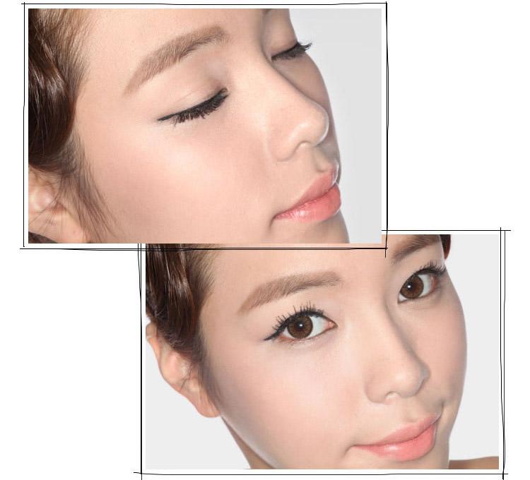 韩国第三眼/3ce超细防水防晕染持久眼线液5g黑色软头