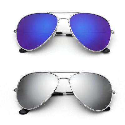 太帅了!防紫外线复古炫彩蛤蟆镜 明星同款太阳镜(送牛津布眼镜盒+麂皮眼镜布)