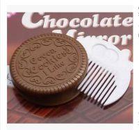 可爱奥利奥巧克力夹心饼干造型镜子