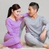 【俞兆林】薄款纯色打底棉毛套保暖内衣套装全棉内衣(女款)