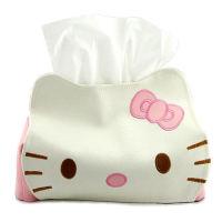 HELLO KITTY/哆啦A梦新款皮革纸巾抽