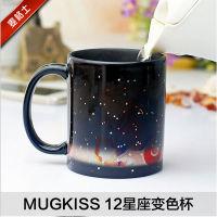 麦格士星空变色杯 十二星座陶瓷马克杯