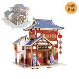 【若态】3D立体木质拼装模型--世界风情之中国风情
