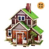 【若态】3D立体木质拼装模型--世界风情之挪威风情