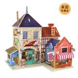 【若态】3D立体木质拼装模型--世界风情之英国风情小屋