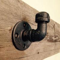 美式工业复古水管创意衣服挂钩