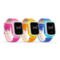 可爱糖果色GPS定位家庭关爱儿童智能电话手表(精准定位 双向通话)