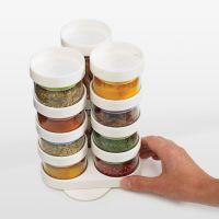 英国Joseph Joseph 创意厨房收纳调料盒10格密封罐(欧盟检测标准)