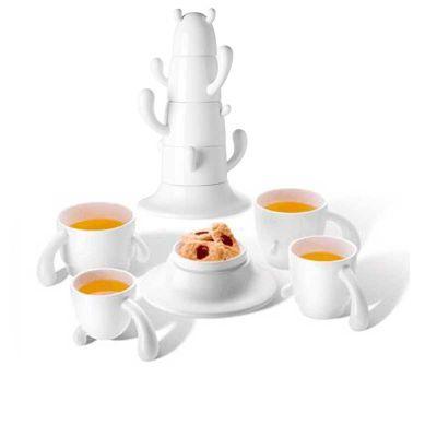 丹麦PO:SELECT Cactus Cup Set 仙人掌茶杯套装(堆叠设计,5件套)