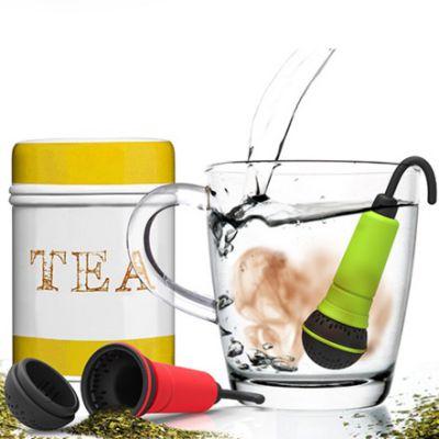 """意大利Rocket麦克风泡茶器(艺术造型,保留茶叶的原味清香,体验茶叶的""""原音重现"""")"""