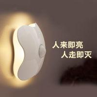 LED红外线人体光感应小夜灯(充电款,携带方便)