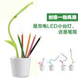 田园式逗逗苗充电LED小台灯(可做笔筒)