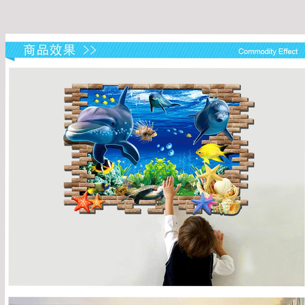 【3d创意立体穿墙贴】迪士尼系列-海底总动员【图片