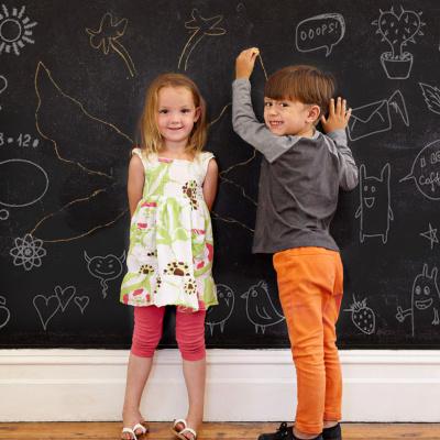 涂鸦防水耐写黑板贴
