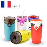 法国Neolid时尚创意个性保冷便携扭扭杯350ml(无