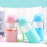 【草莓生活】创意蘑菇玻璃可过滤茶杯380ml(可拆卸茶隔