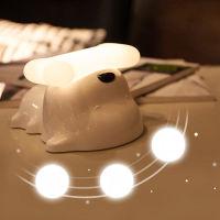 萌宠小狗床头灯浪漫温馨USB小夜灯 (充电款)