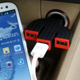 VOJO三口USB升级款7.2A电流输出 车载充电器