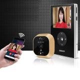 移康智能wifi电子猫眼摄像头可视门铃-侦测版A21