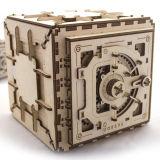 乌克兰Ugears木质机械传动拼装模型|密码箱