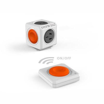 荷兰阿乐乐可PowerCube全新二代无线遥控魔方插座(无线直插+遥控组合装)