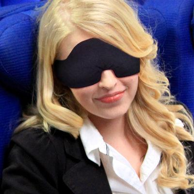 黑色3D午夜魔幻眼罩