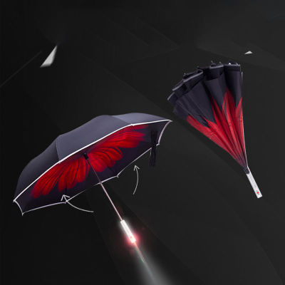 汽车反向防撞警示伞---一把能为安全续航的伞