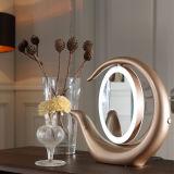 为美来led化妆镜三色调光可180°旋转欧美化妆镜
