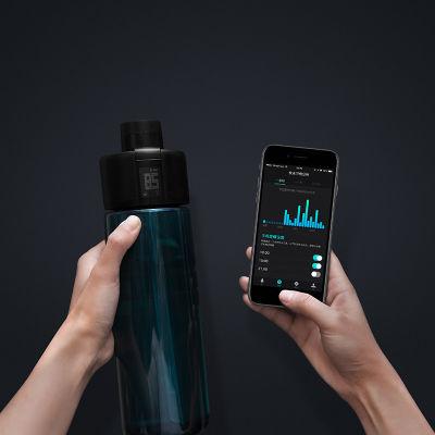 麦开gene智能监测运动水杯 户外旅行便携水壶700ml
