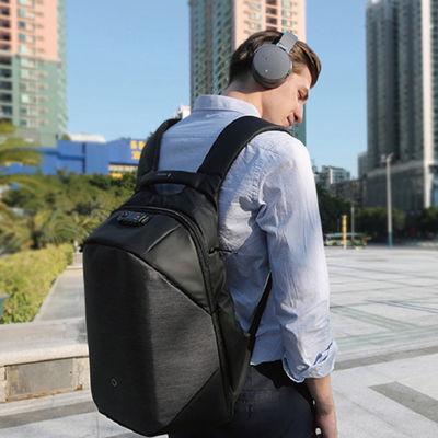 三重实力防盗带充电背包