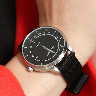 情侣尼龙表带智能手表