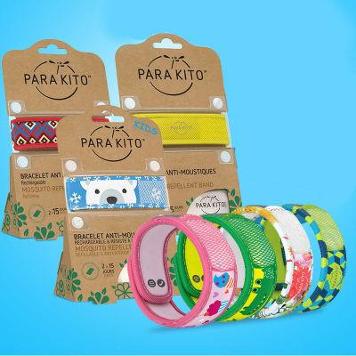 法国ParaKito帕洛天然驱蚊手环(2018儿童经典款,自带2个驱蚊片)