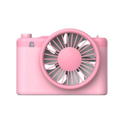风格派拍拍迷你小风扇 移动电源可充电