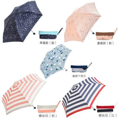日本because超轻防晒防紫外线降温遮阳伞