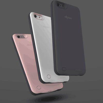 aipao 苹果背夹电池苹果6/6s/7充电宝手机壳