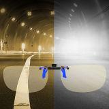 变形金刚第二代升级版  镀蓝膜防远光驾驶眼镜近视夹片TF