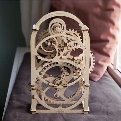乌克兰UGEARS木质机械传动模型|计时器