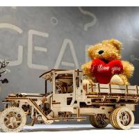 乌克兰UGEARS木质机械传动模型|卡车