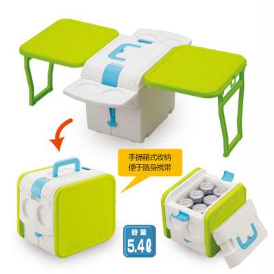 IMOTANI日本进口多功能保温保冷野营折叠桌