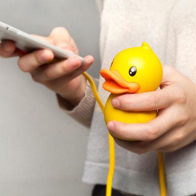 B.Duck小黄鸭充电宝聚合物移动电源