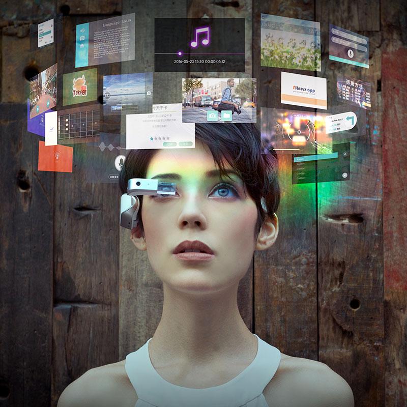尚酷报价_香港MAD Gaze X5 AR智能眼镜 黑色【图片_价格_报价_怎么样】
