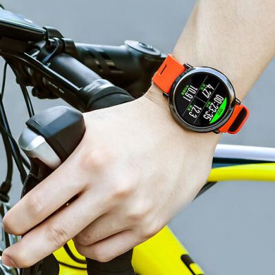 AMAZFIT智能运动手表 冠军版 红色手表+黑色腕带+蓝牙耳机套装