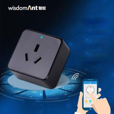 智蚁 智能插座16A 黑色升级版(红外线远程控制家电 )