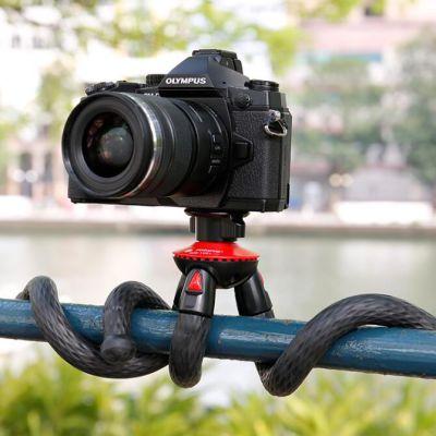 富图宝 单反相机手机便携百变八爪鱼三脚架+蓝牙遥控器(套装)