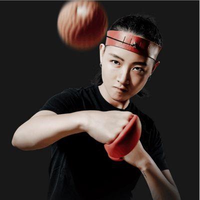【减压、训练神器】Zivfower头戴式减压搏击球(橘色)