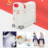 挪威杰卡森 JetKids BedBox 儿童多功能行李箱!一箱多用,睡床 + 行李箱 + 骑