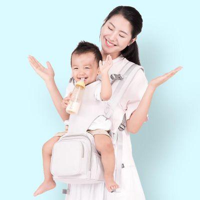 【抱娃神器】GeekPaPa 多功能一体式婴儿背包 腰凳