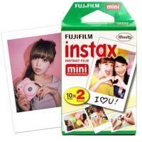 富士(FUJIFILM)INSTAX 一次成像相机 MINI相纸(白边版20张 胶片)