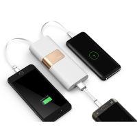 iWALK超薄充电宝20000毫安 移动电源 带手机支架(自带充电线,苹果、安