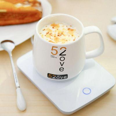 55℃恒温创意马克杯 带盖勺